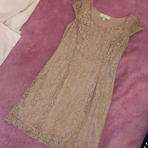 Pink Blush Lace Dress